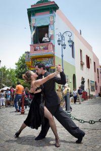 Tango in Caminito, La Boca